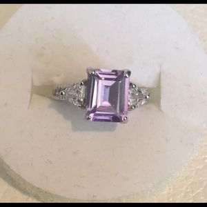 Jewelry - Lavender topaz and silver ring